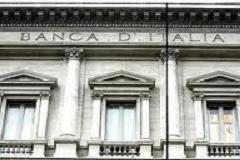 Bankitalia: ricchezza famiglie in calo, frenata sui mutui