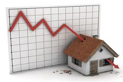 Tecnoborsa: prezzi degli immobili in calo