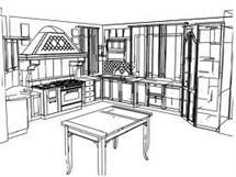 Cucina e salotto: al centro delle mode immobiliari